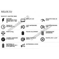 NILOX X7